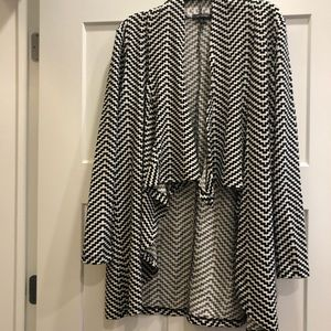 The Limited large sweater jacket